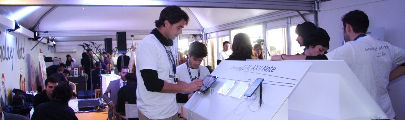 MWC Samsung Movile Tablet